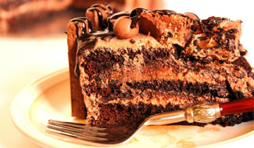 The ever favorite Chocolate Cake